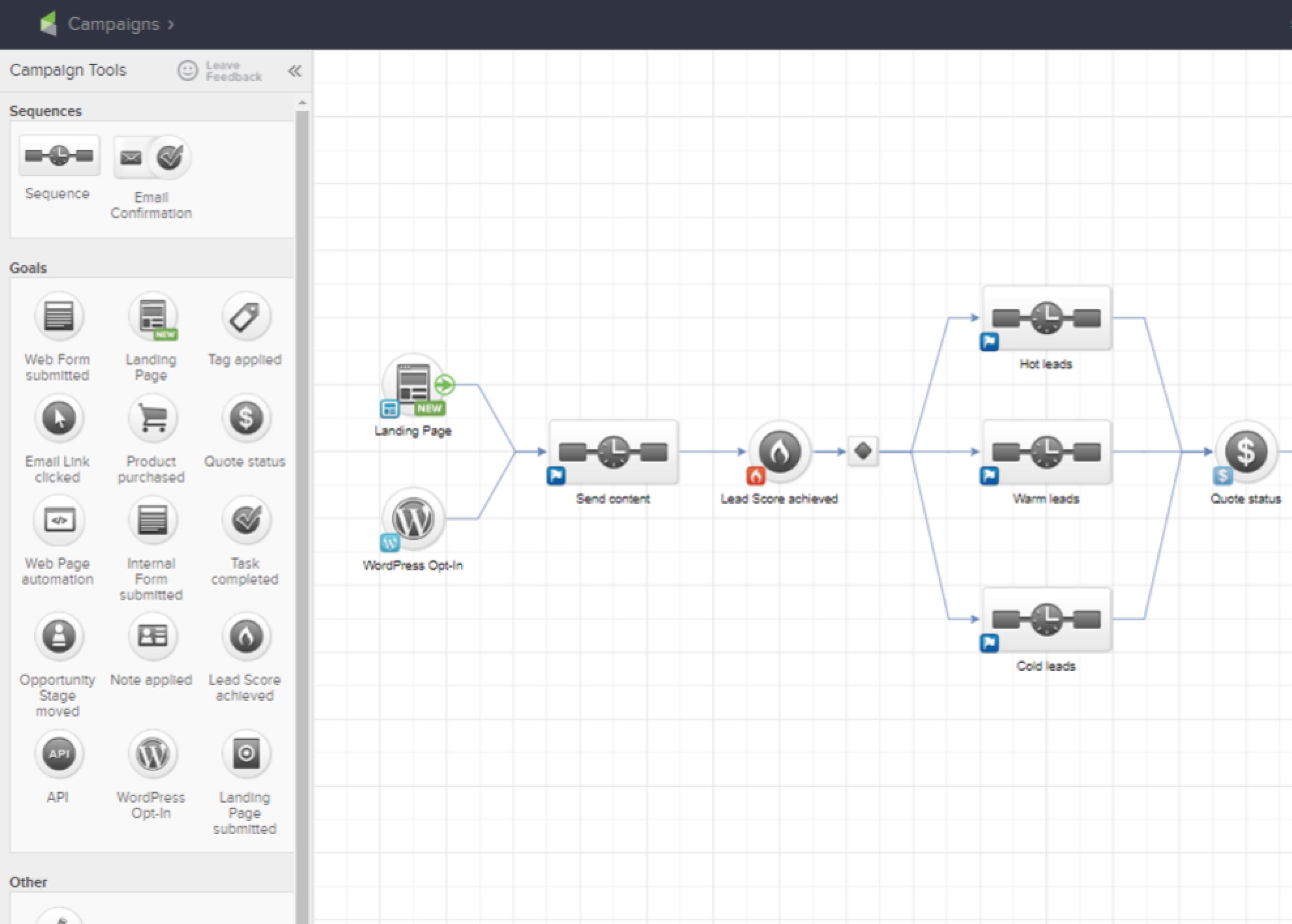 Keap Software - Keap - campaign tools