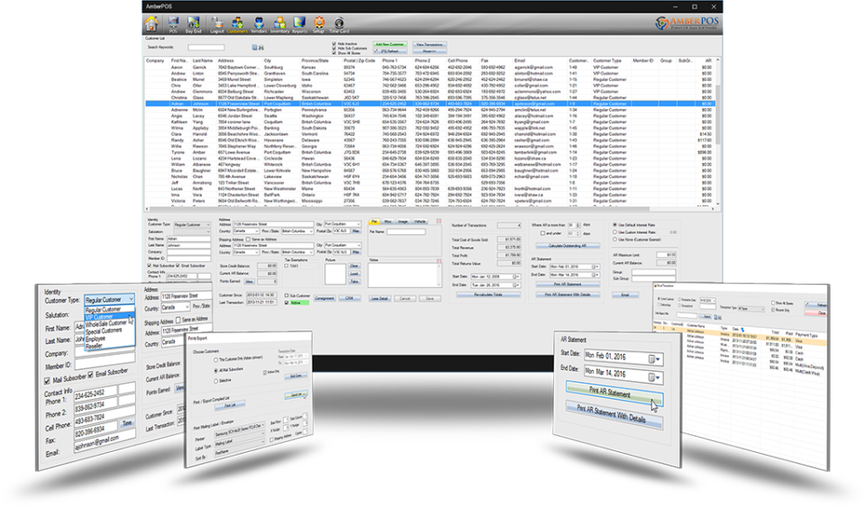 AmberPOS Software - 1