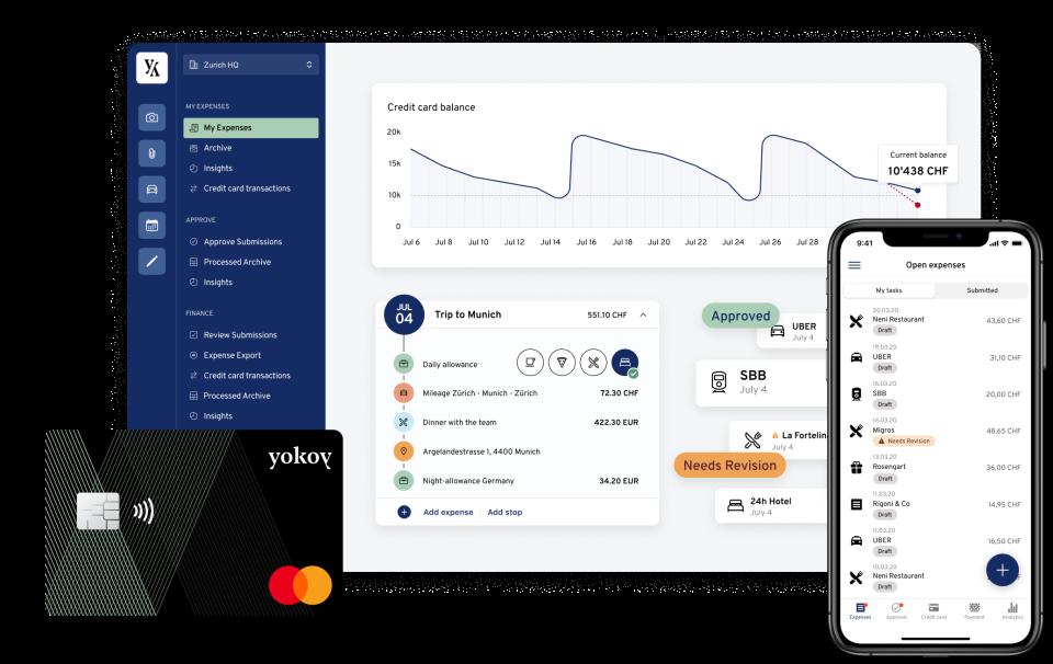 Yokoy Software - Yokoy Expense, Yokoy Card