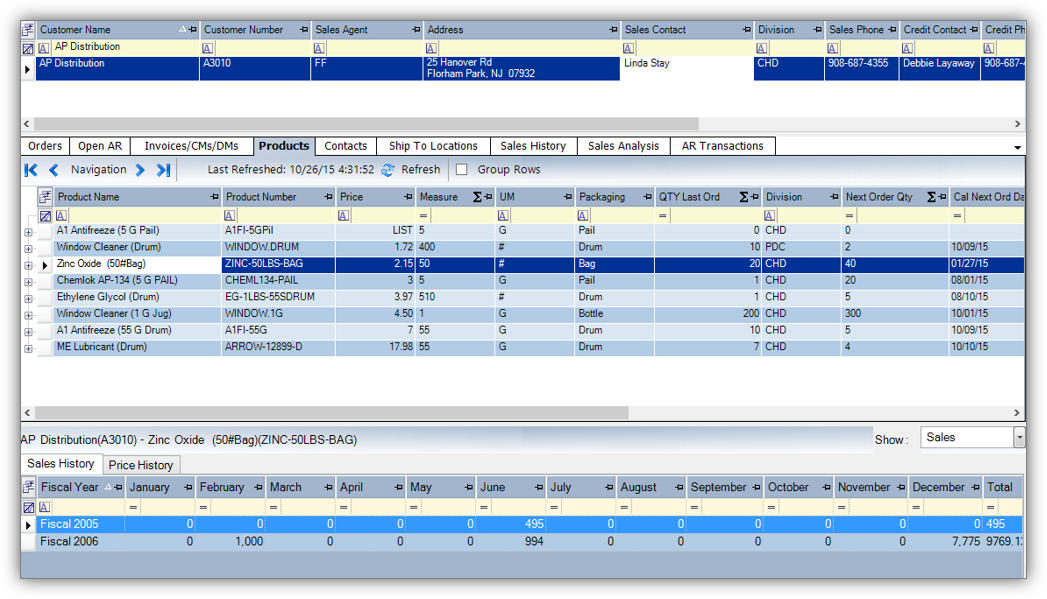 Datacor ERP Software - Product Profile