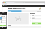 Raklet screenshot: Raklet: Create and manage fundraising campaigns