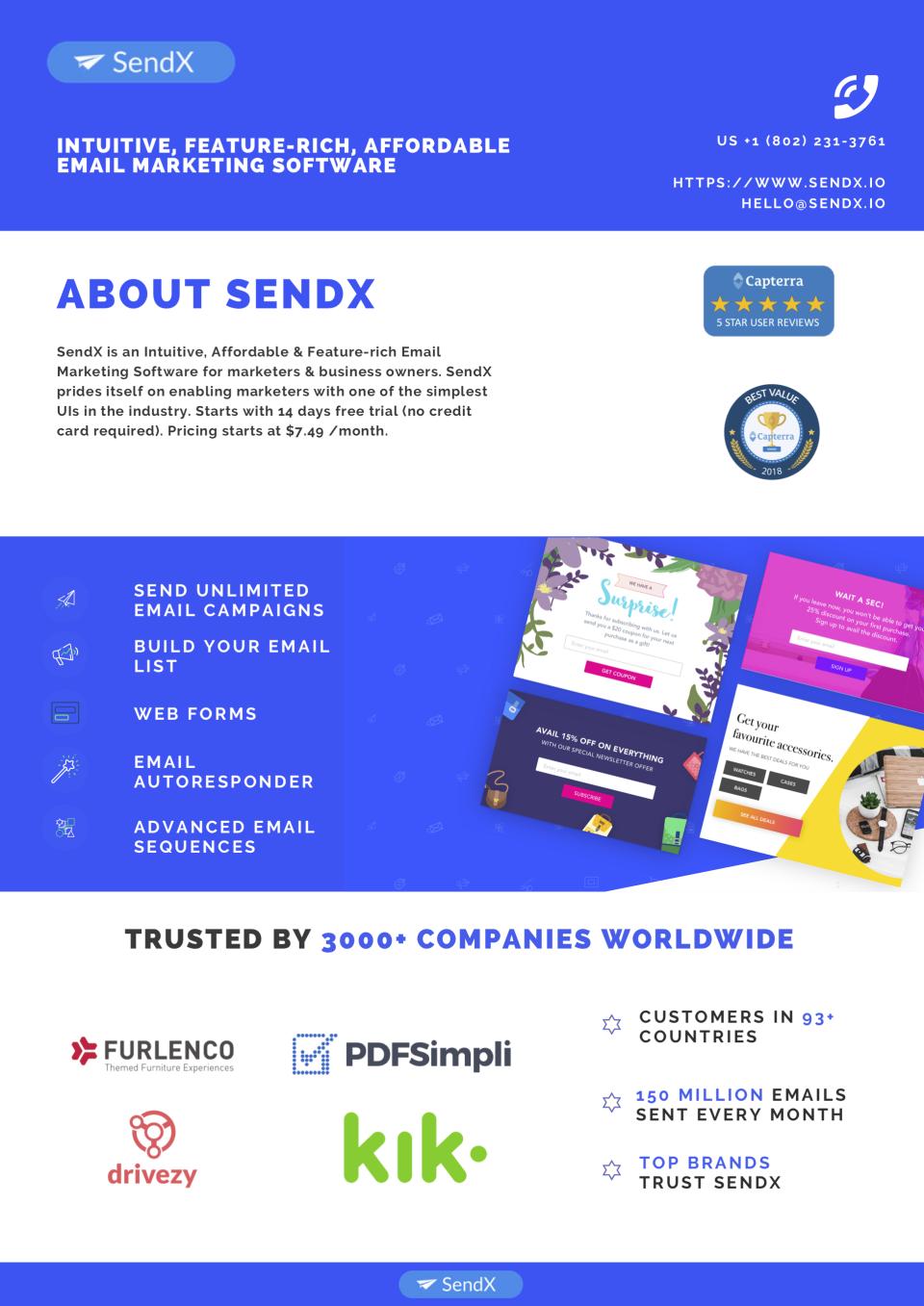 SendX Software - 1