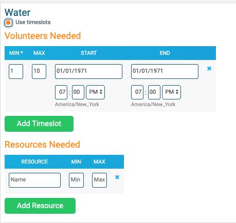 RunSignup volunteer requirements