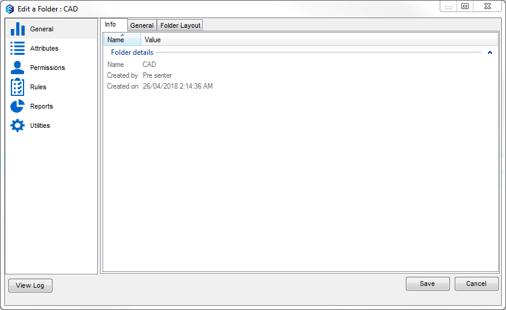12d Synergy folder editing