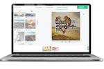 Rocketium Screenshot: Upload or choose background music from Rocketium's copyright-free media library