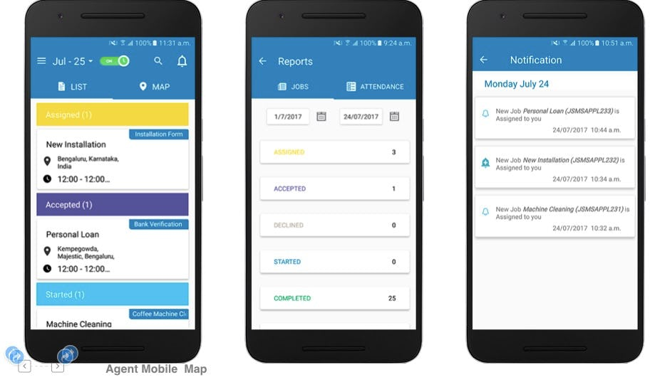 TrackOx Software - Field Agent mobile app