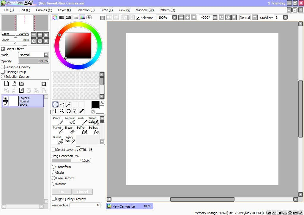PaintTool SAI Logiciel - 1