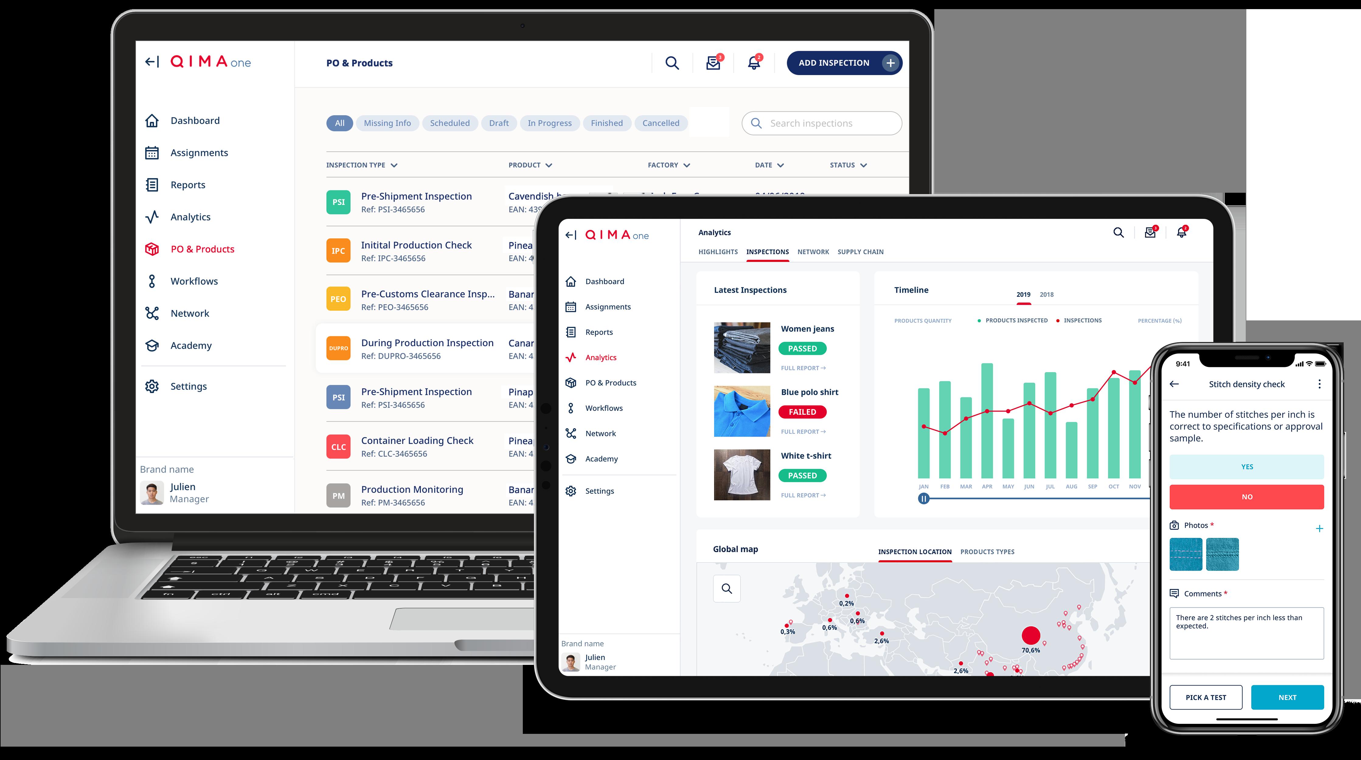 QIMAone quality and compliance platform