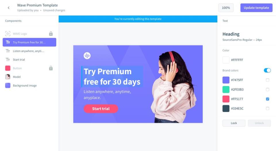 Bynder Software - Digital Brand Templates