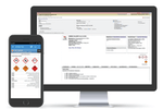 Benchmark ESG | Gensuite screenshot: Meet Hazard Communication obligations through easy to use, desktop & mobile friendly search. Maintain up-to-date MSDS for all chemical products with turnkey SDS version maintenance. Manage end-to-end chemical inventory tracking.