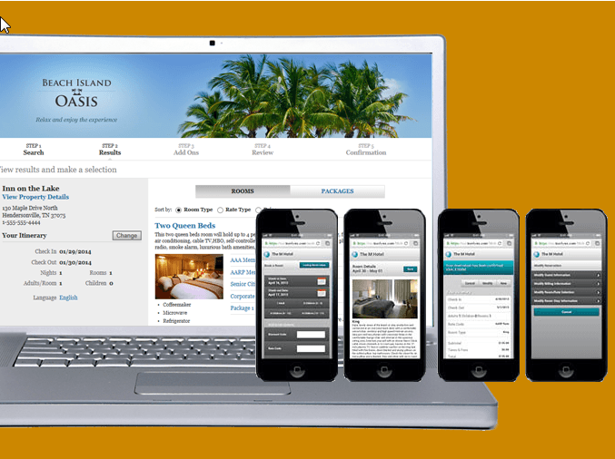 Mobile bookings