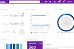 Captura de tela do EZRentOut: Interactive Dashboard