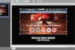 ProPresenter screenshot: ProPresenter HTML5 support/web object screenshot
