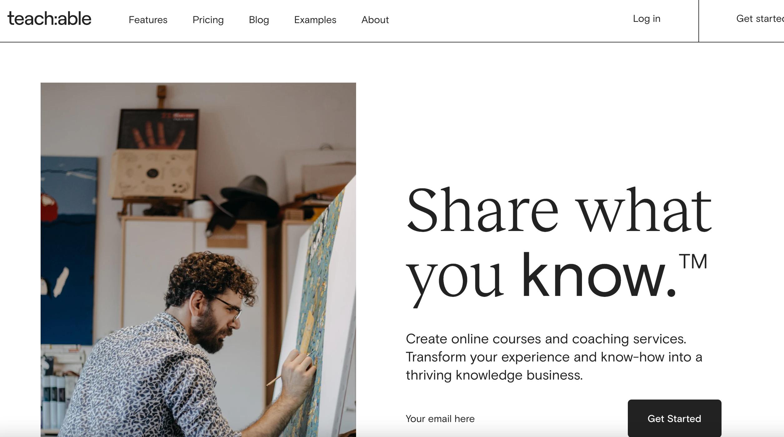 Teachable Software - Teachable homepage