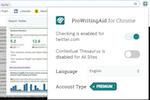 ProWritingAid screenshot: ProWritingAid Google Chrome extension