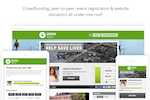 Classy screenshot: All-in-one fundraising across crowdfunding, peer-to-peer, event registration and website donations