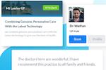 HealthEngine screenshot: HealthEngine practitioner profile