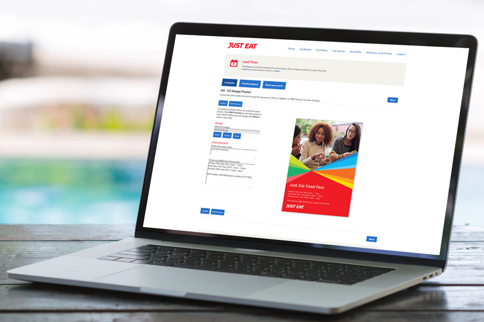 ROI360 portals are branded specifically to the organization with relevant colors and logos