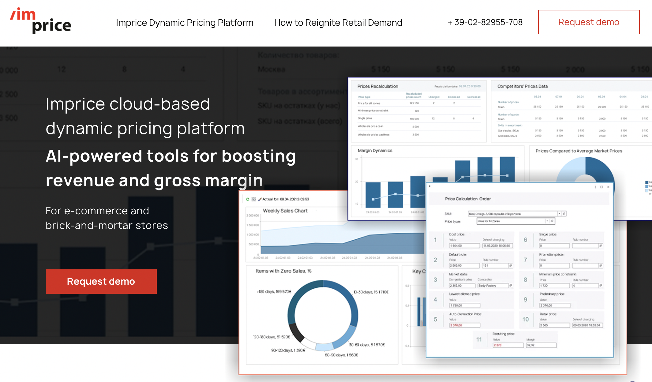 AI-powered tools for boosting revenue and gross margin.