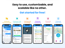 Connecteam Software - Connecteam's all-in-one employee app is an industry leading platform to manage frontline employees. It's easy to use, customizable, and scalable like no other!