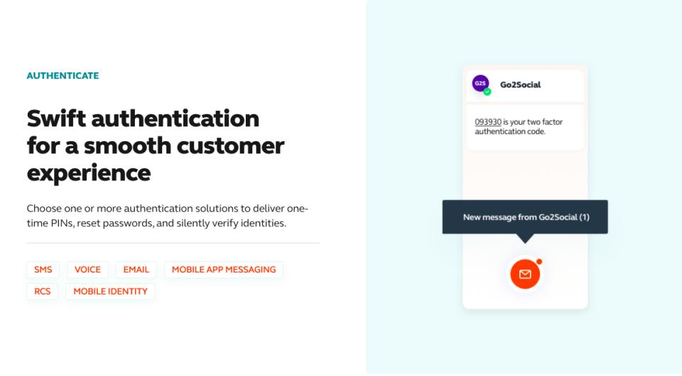 Infobip Software - Authenticate