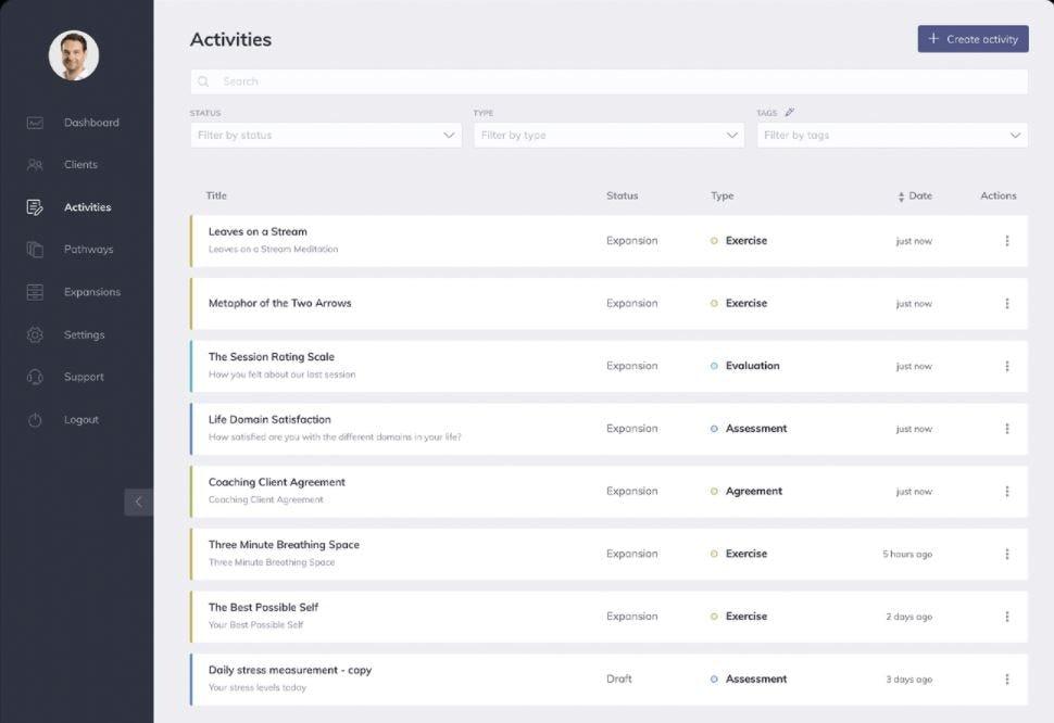 Quenza Software - Quenza activities