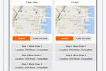 Manage Petro screenshot: Users can track the exact location of trucks, as well as their real-time inventory and progress on assigned deliveries