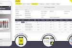 Capture d'écran pour AroFlo : Automate and streamline the purchasing process and inventory management