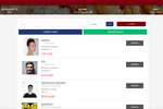 Menumiz screenshot: Customer profiles let users track their current and previous guests
