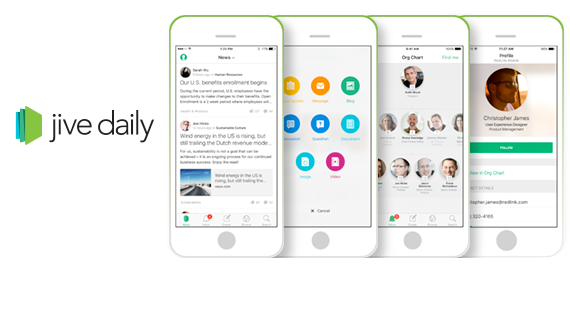 With the Jive Daily mobile app, users can tap the full power of Jive anytime and anywhere – from any mobile device