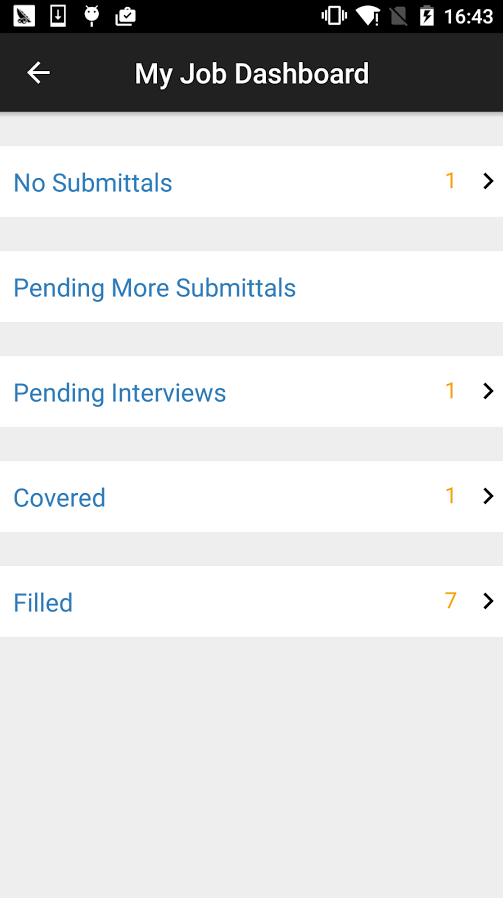 Respond to submittals, book interviews, and confirm start dates