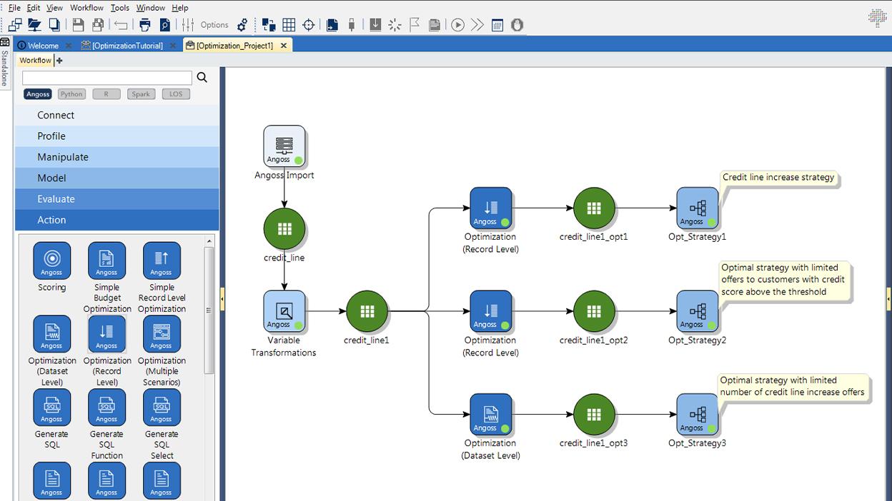Knowledge Studio Software - Knowledge Studio optimization analysis