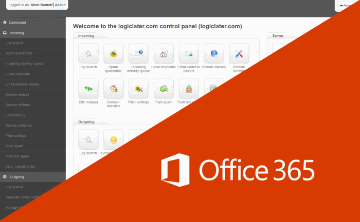 Mail Assure integrated with Office 365 to add security and backup emails