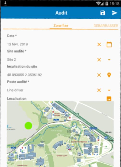 BlueKanGo screenshot: BlueKanGo audit tracking