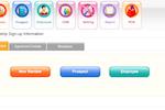 iGo Figure screenshot: Members, prospects and employees can all be registered in iGo Figure