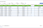 QuickBooks Desktop Enterprise screenshot: Cycle count allows users to scan and upload inventory counts for multiple warehouses