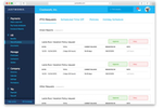 Justworks screenshot: Time off can also be managed through Justworks