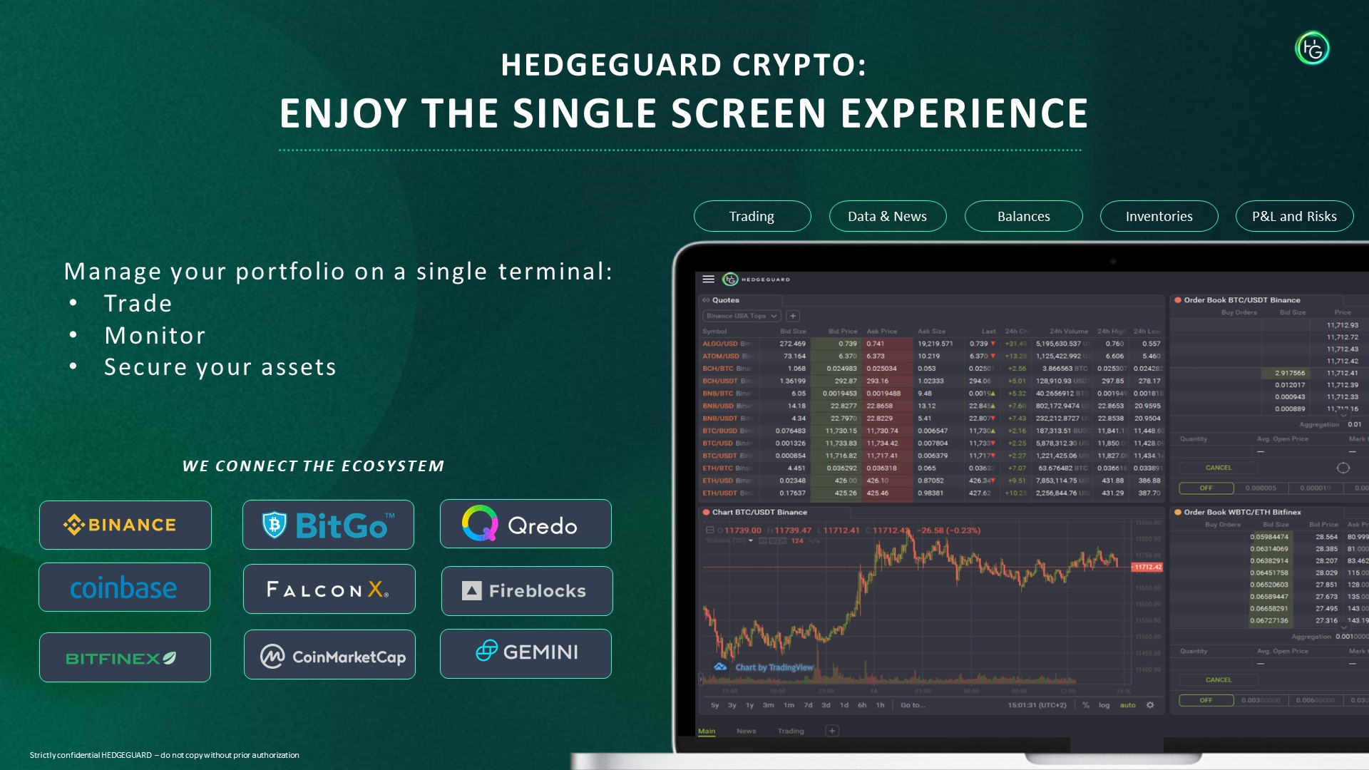 HedgeGuard Crypto Portfolio Management System