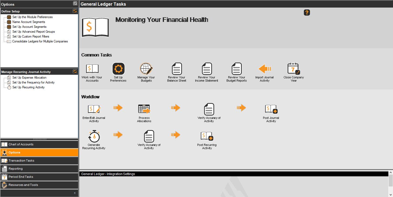 Denali Business Software - General Ledger Workflow