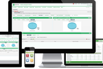 M&H OneSource screenshot: With OneSource, employers can manage hiring, onboarding, time tracking, employee benefits, payroll and more, from one central platform