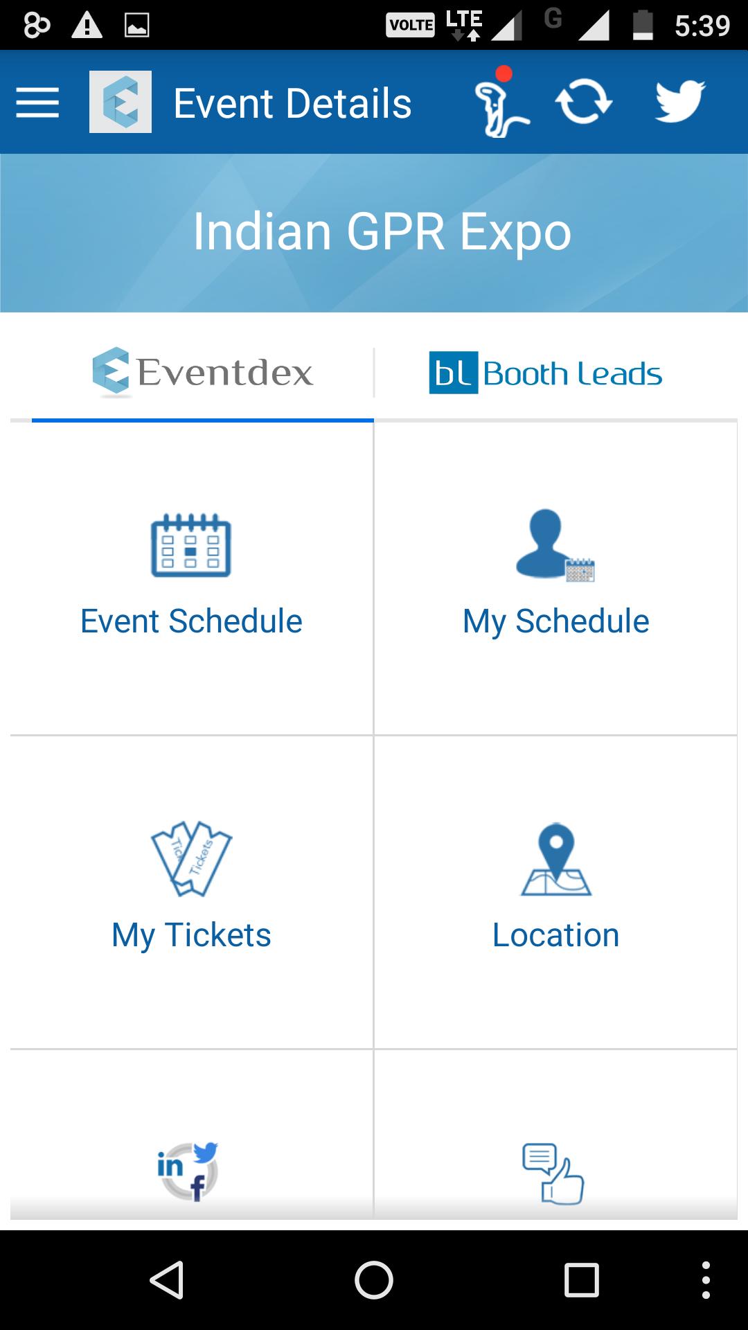 Eventdex Software - Event details