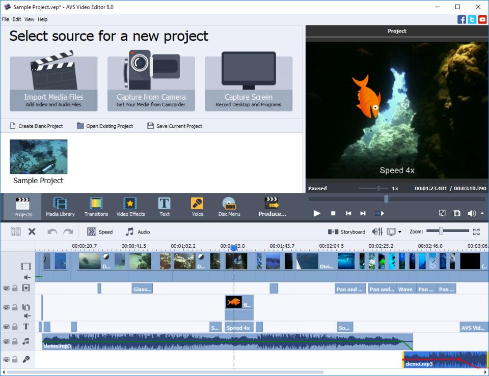 AVS Video Editor Software - 1
