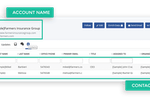 Second CRM screenshot: Get a complete view of your customer details, key contacts, engagements, communications history and social media insights. Highly useful to build customer profile and support them according to their preferences.