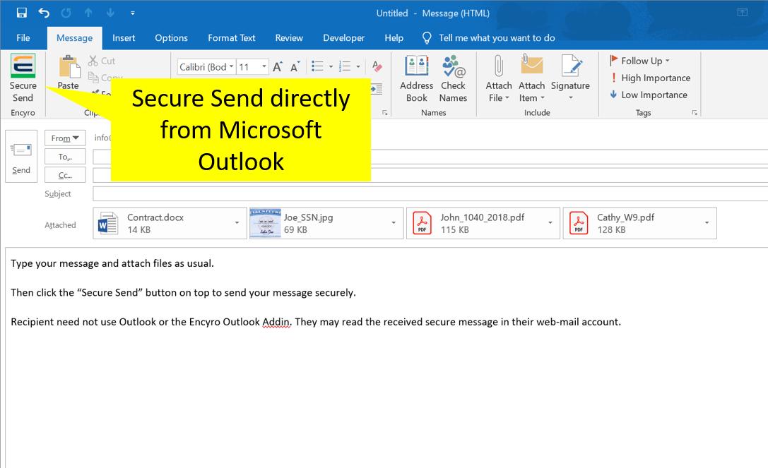 Free Outlook Addin