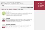 VersionOne screenshot: Capture and Prioritize Customer Ideas