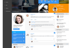 DEEP Intranet Software screenshot: DEEP employee profile