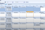 WinTeam screenshot: WinTeam calendar