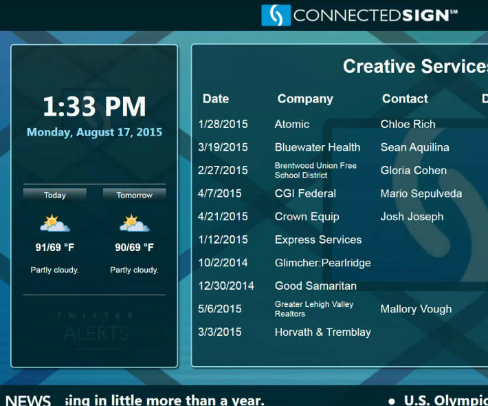 Creative content services help to keep messages up to date