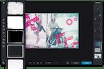 Pixlr Screenshot: Pixlr X borders