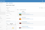 Cloud CMS screenshot: Cloud CMS search functionality
